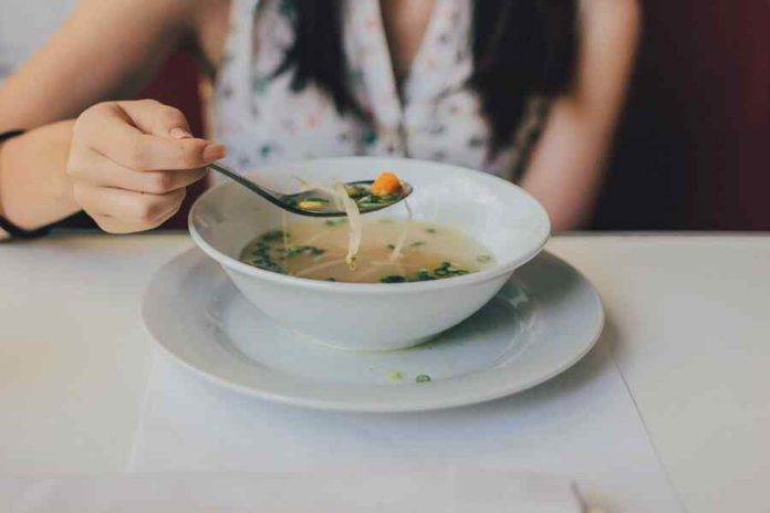 Lemon grass Soup