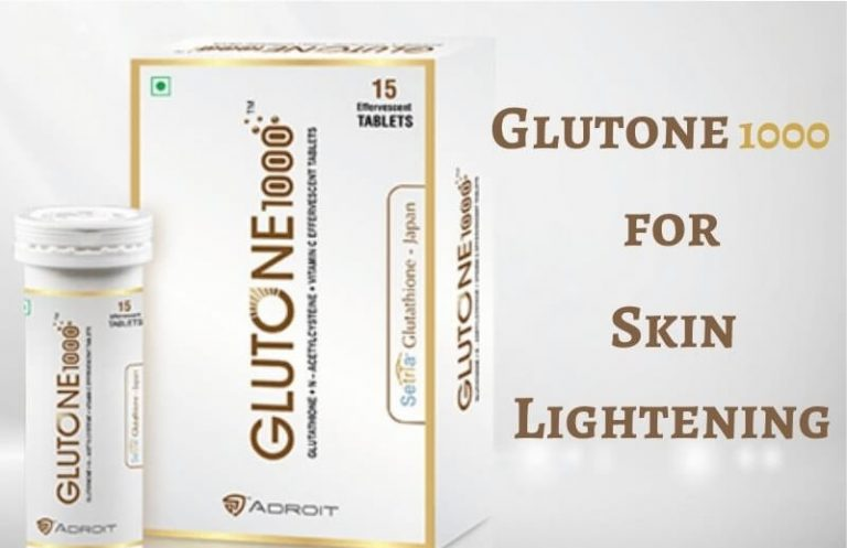 Glutone 1000 for skin lightening