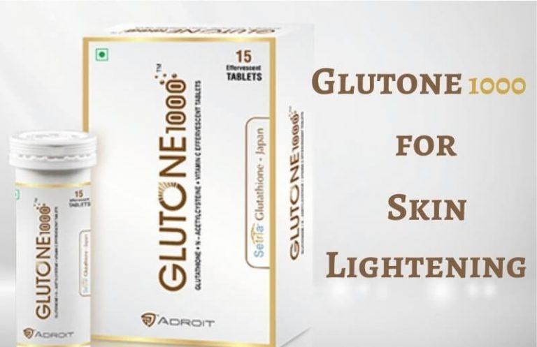 Glutone 1000 for skin lightening
