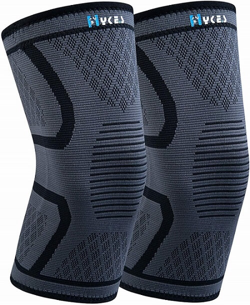 Hykes Knee Cap Compression Support Sleeve