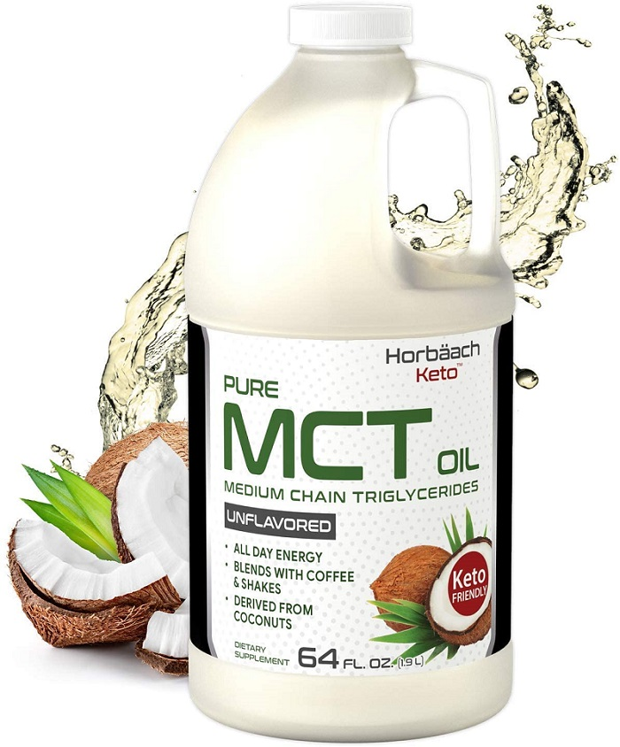 Keto MCT Oil 64 oz by Horbaach
